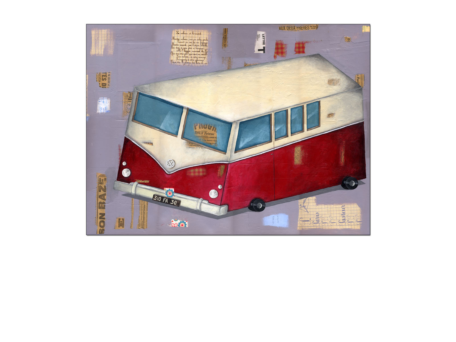 Olivier DAUMAS - illustrations -  - Transports