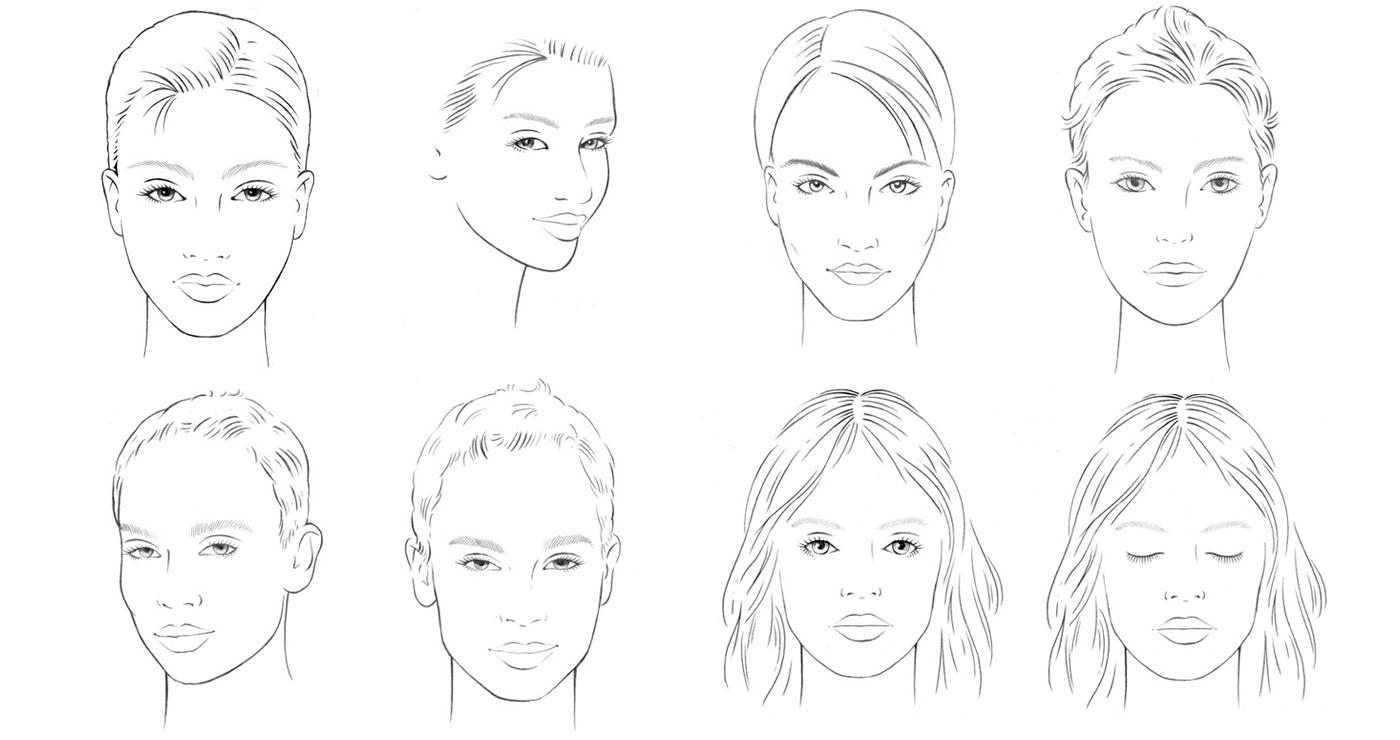 Frederik illustration rough story board animation paper art vignettes portraits lun et lautre 1