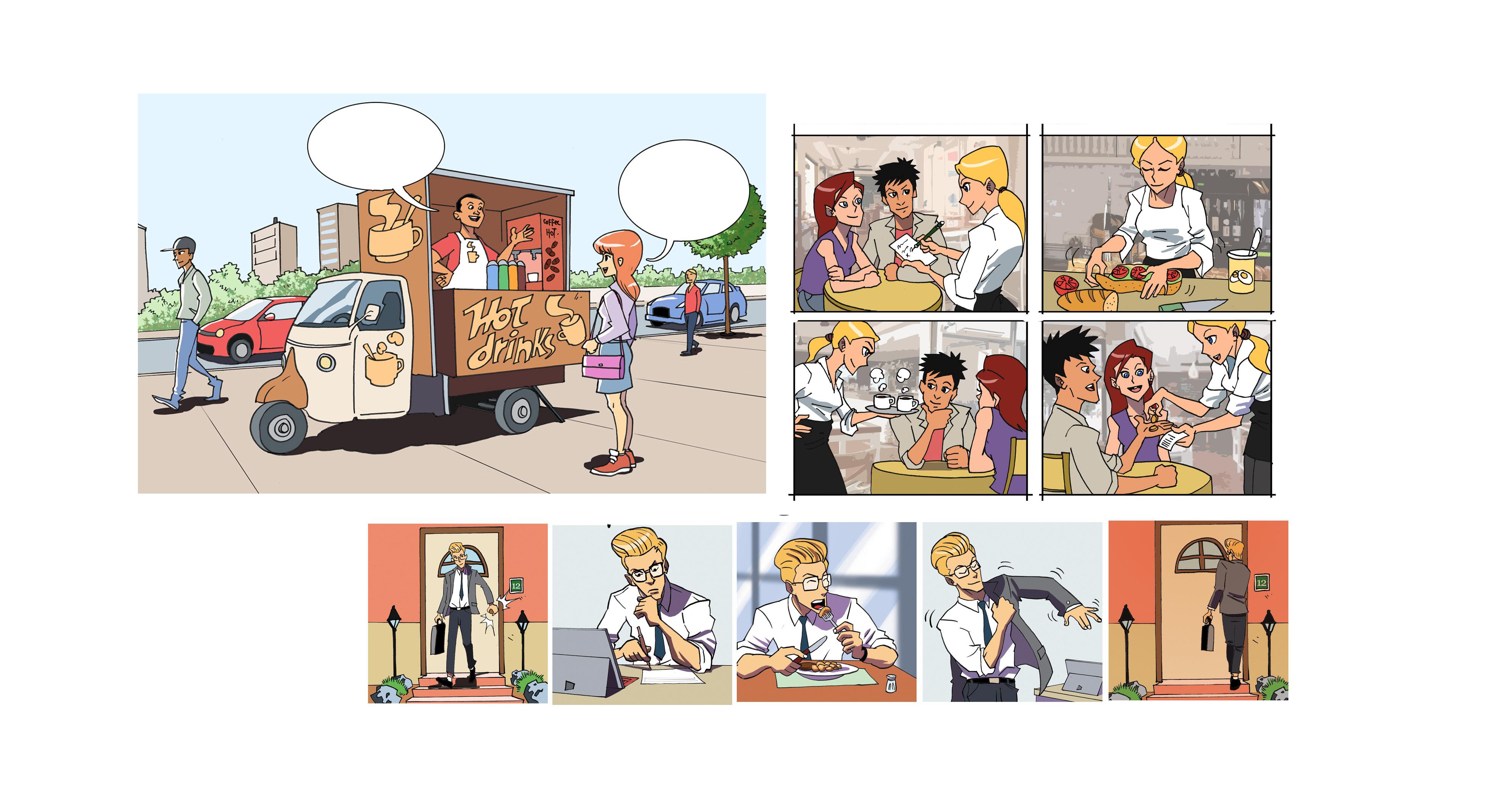 alfonso recio illustration BD travail manga