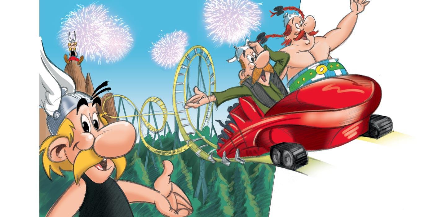 beaudenon-rough-cartoon-asterix-rollercoaster