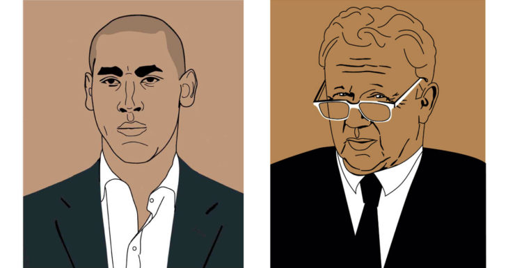 BRIAN - illustrations -  - Portraits - Caricatures