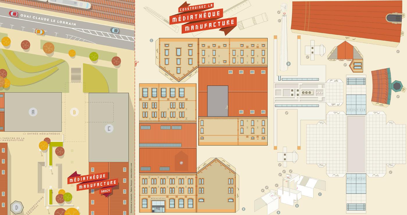 fabien-veancon-illustration-animation-paper-art-evenementiel-papercraft-mediatheque-lun-et-lautre