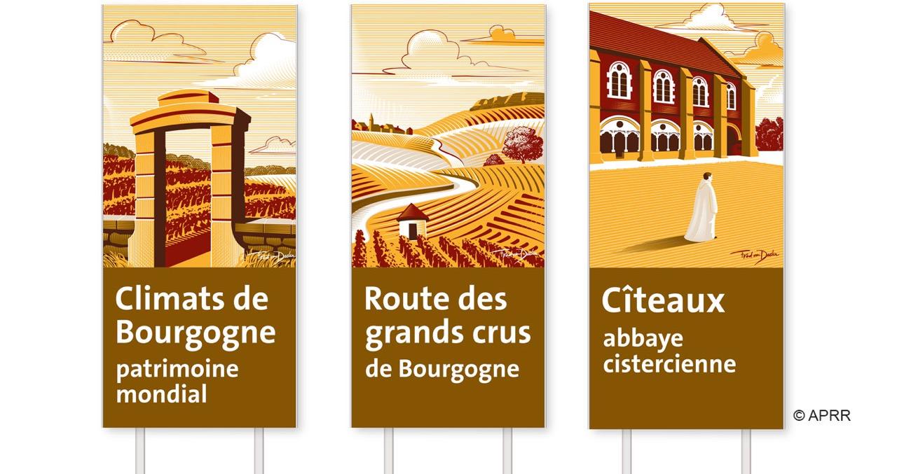 fred-van-deelen-lun-et-lautre-illustration-panneaux-touristiques -APRR
