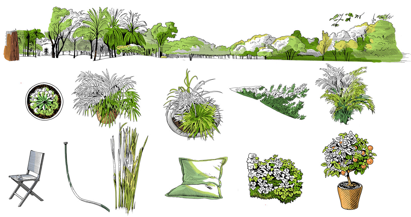frederik illustration rough story board animation paper art gravure trait anglais 778 1 lun et lautre