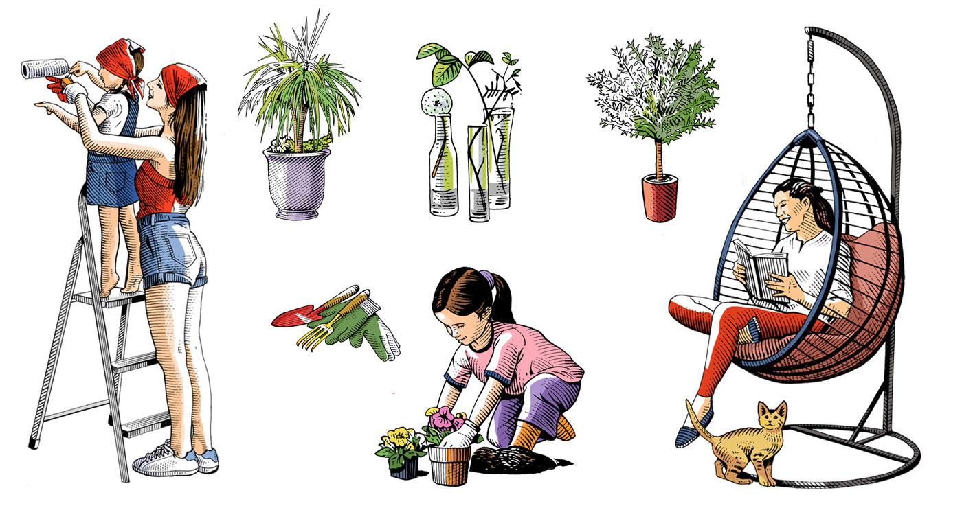 frederik illustration rough story board animation paper art gravure trait anglais 778 3 lun et lautre