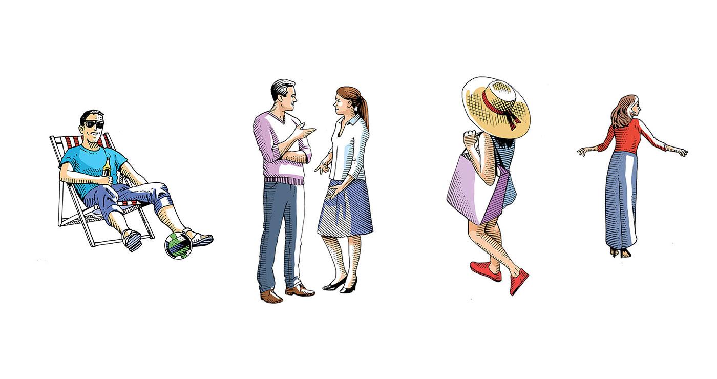 frederik illustration rough story board animation paper art gravure trait anglais 778 7 lun et lautre