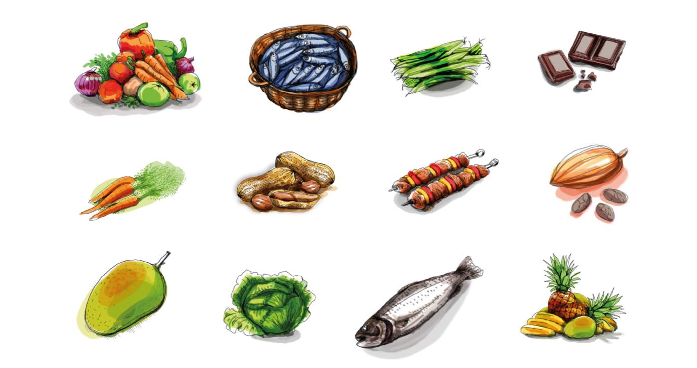 gabrielle illustration food 03