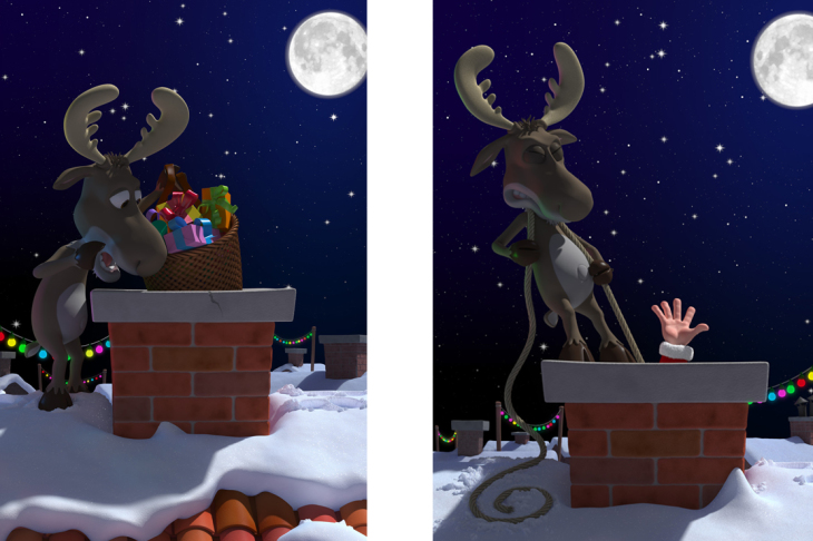 GERY LEBECQ 3D - illustrations -  - NOEL