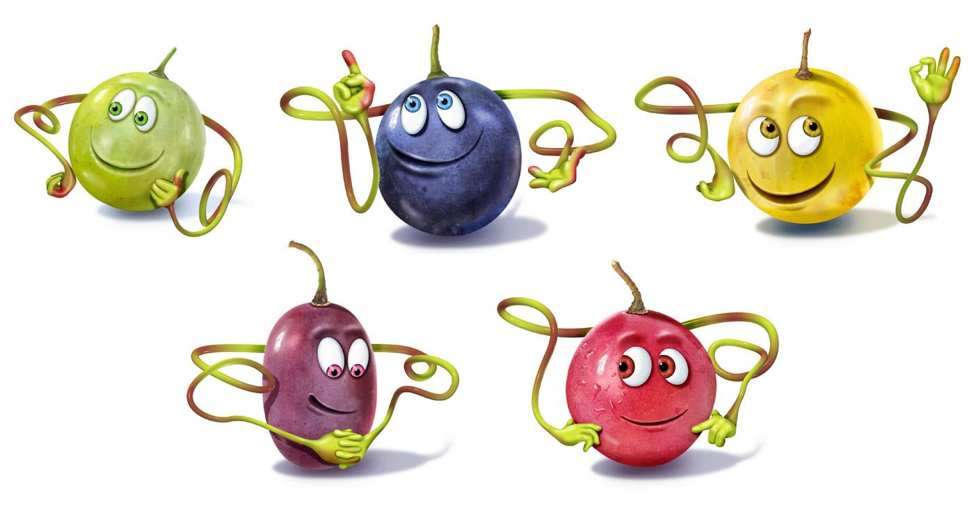 illustration 3D francois poulain raisins 04