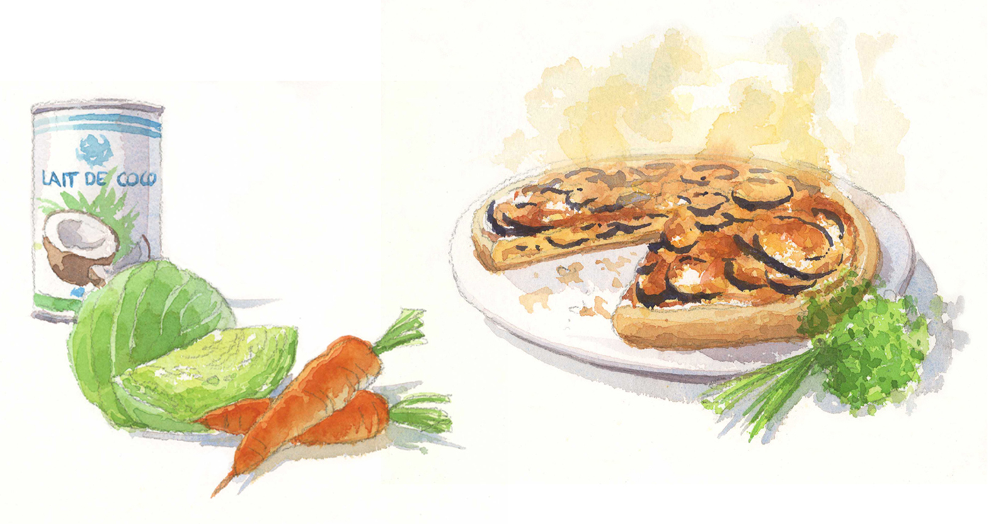 illustration alimentaire aquarelle yves perron 1 05