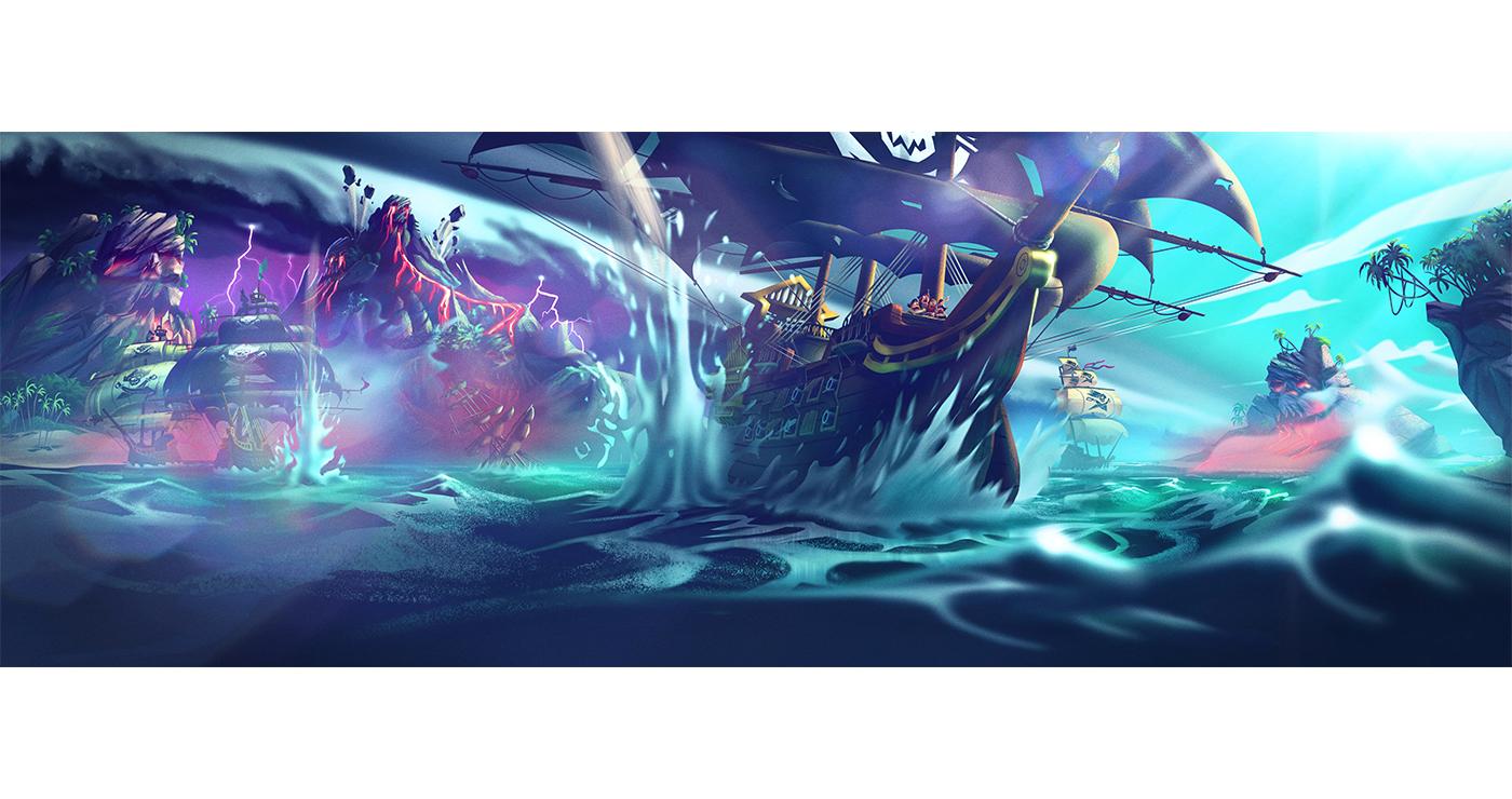 illustration benoit tastet pirates mascotte