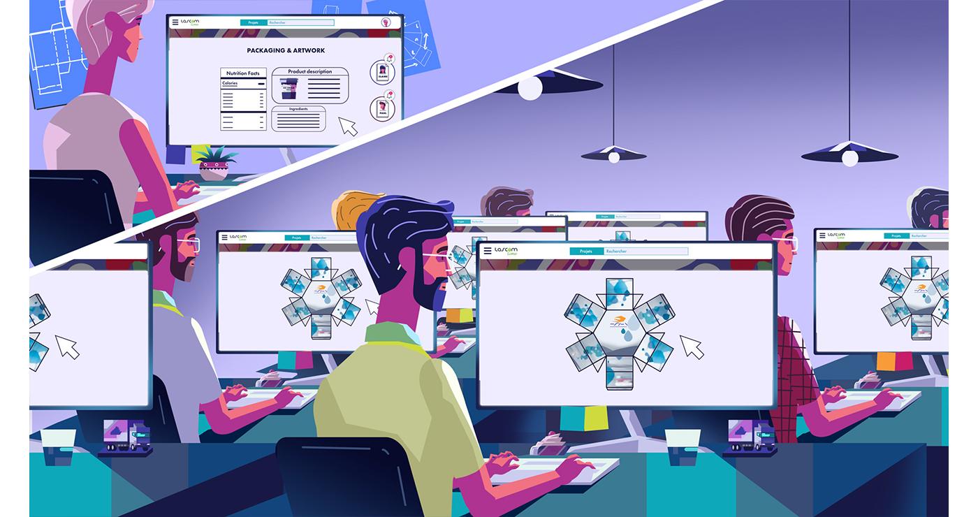 illustration benoit tastet techniques infographie lascom5