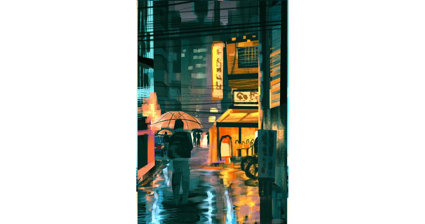 illustration benoit tastet urbanisme ruelle