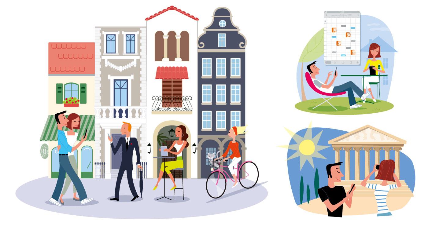 illustration erick duhamel ING