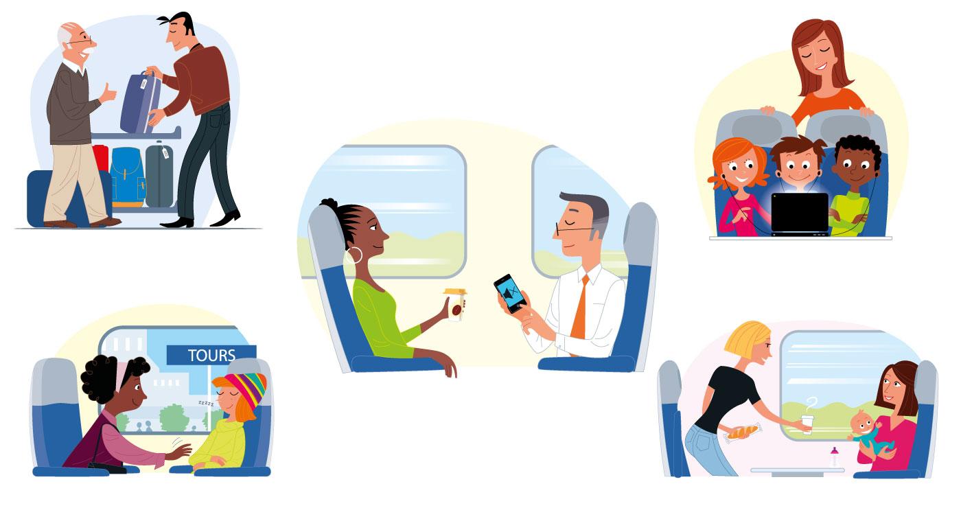 illustration erick duhamel TGV 2