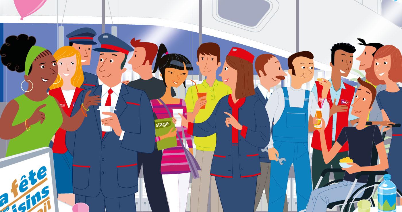 illustration erick duhamel TGV 3