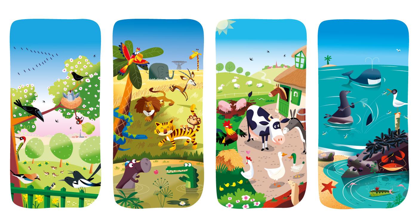 illustration erick duhamel animaux