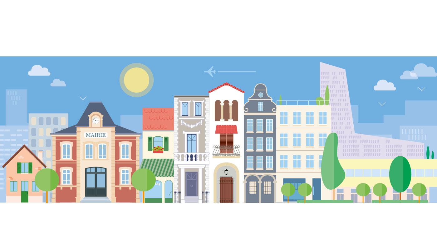 illustration erick duhamel flat design