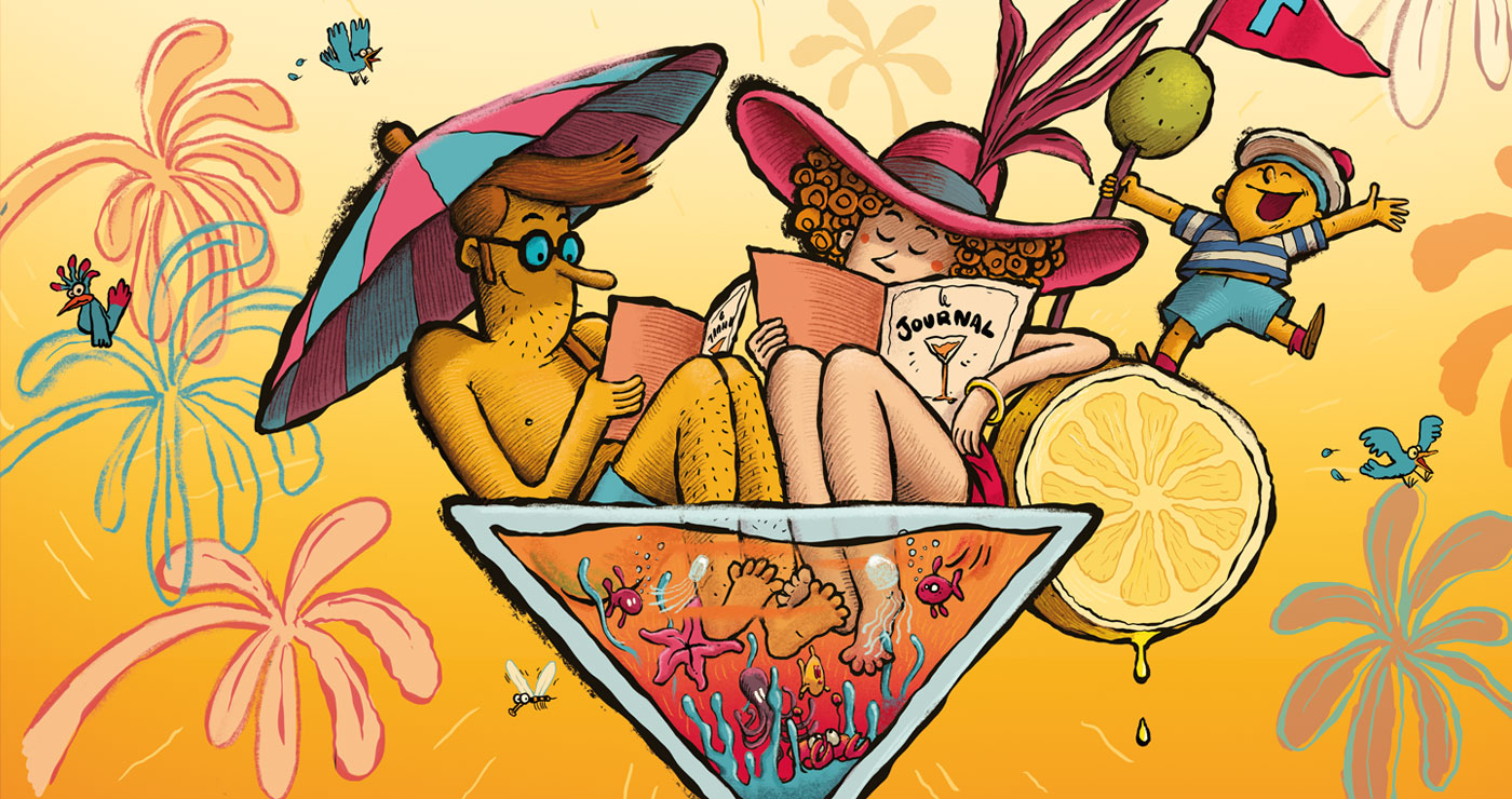 illustration fabien veancon cocktail juillet2020