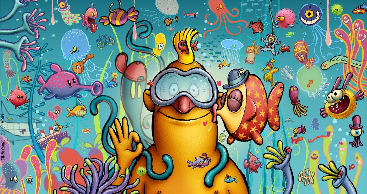Fabien VEANCON - illustrations -