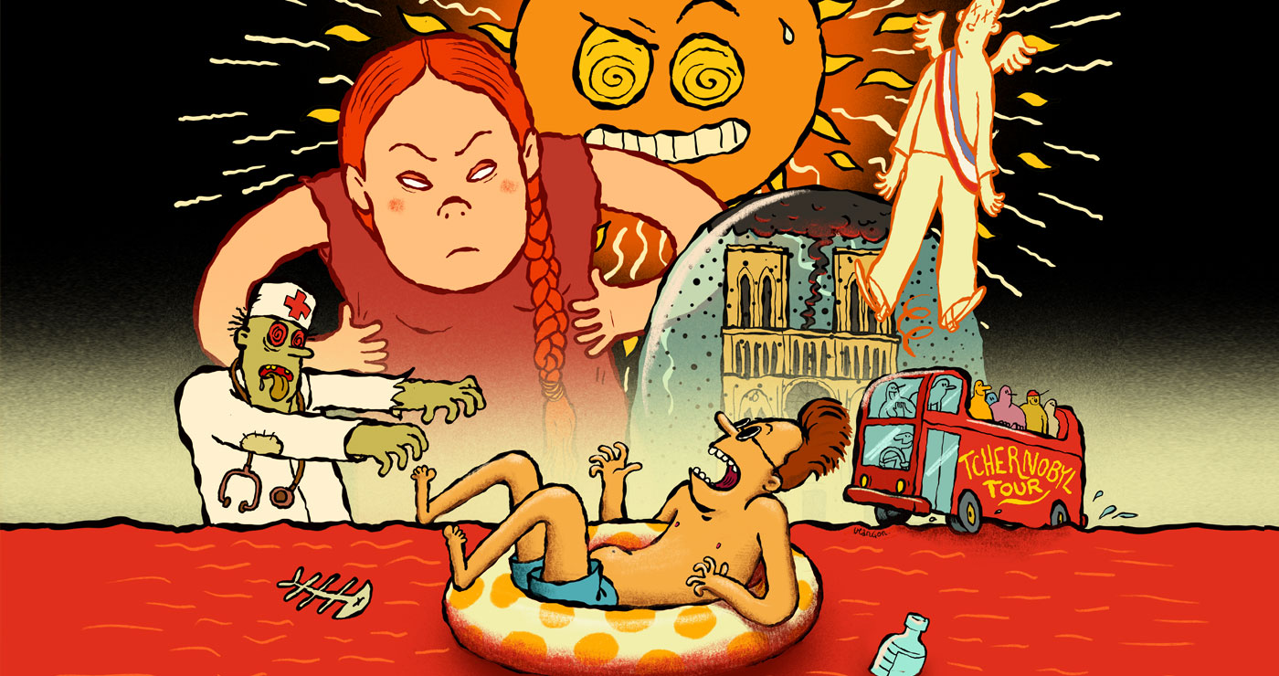 illustration fabien veancon greta thunberg fevrier2020