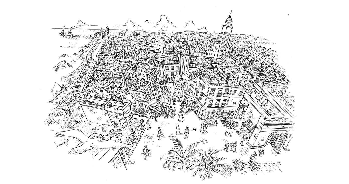 illustration-fred-van-deelen-cartes-essouira