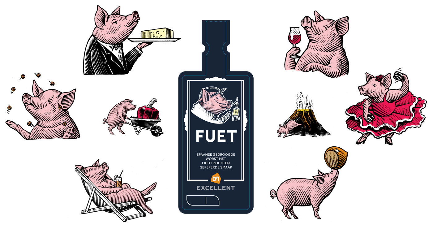 illustration frederik gravure cochons 01 1