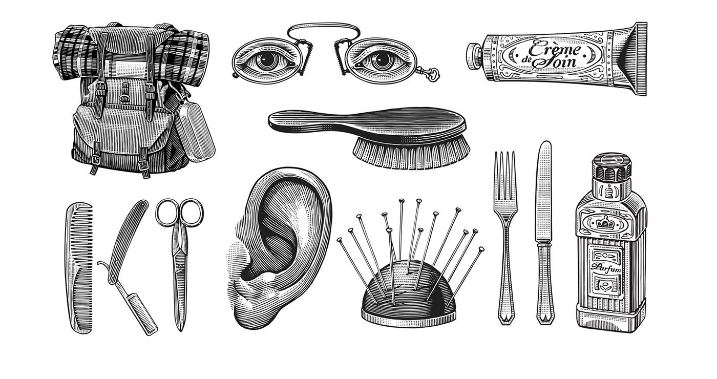 illustration frederik gravure vignettes bhv 01 1