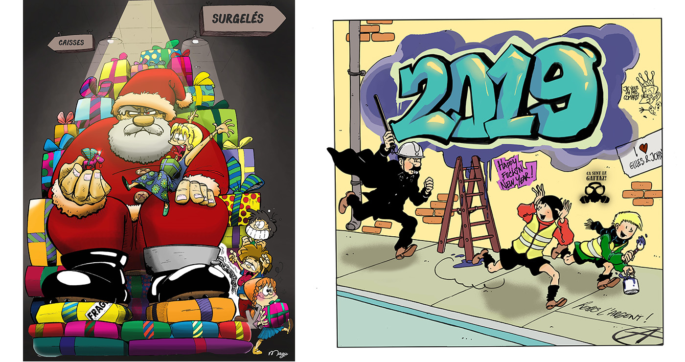 illustration guillaume mazurage carte noel 02