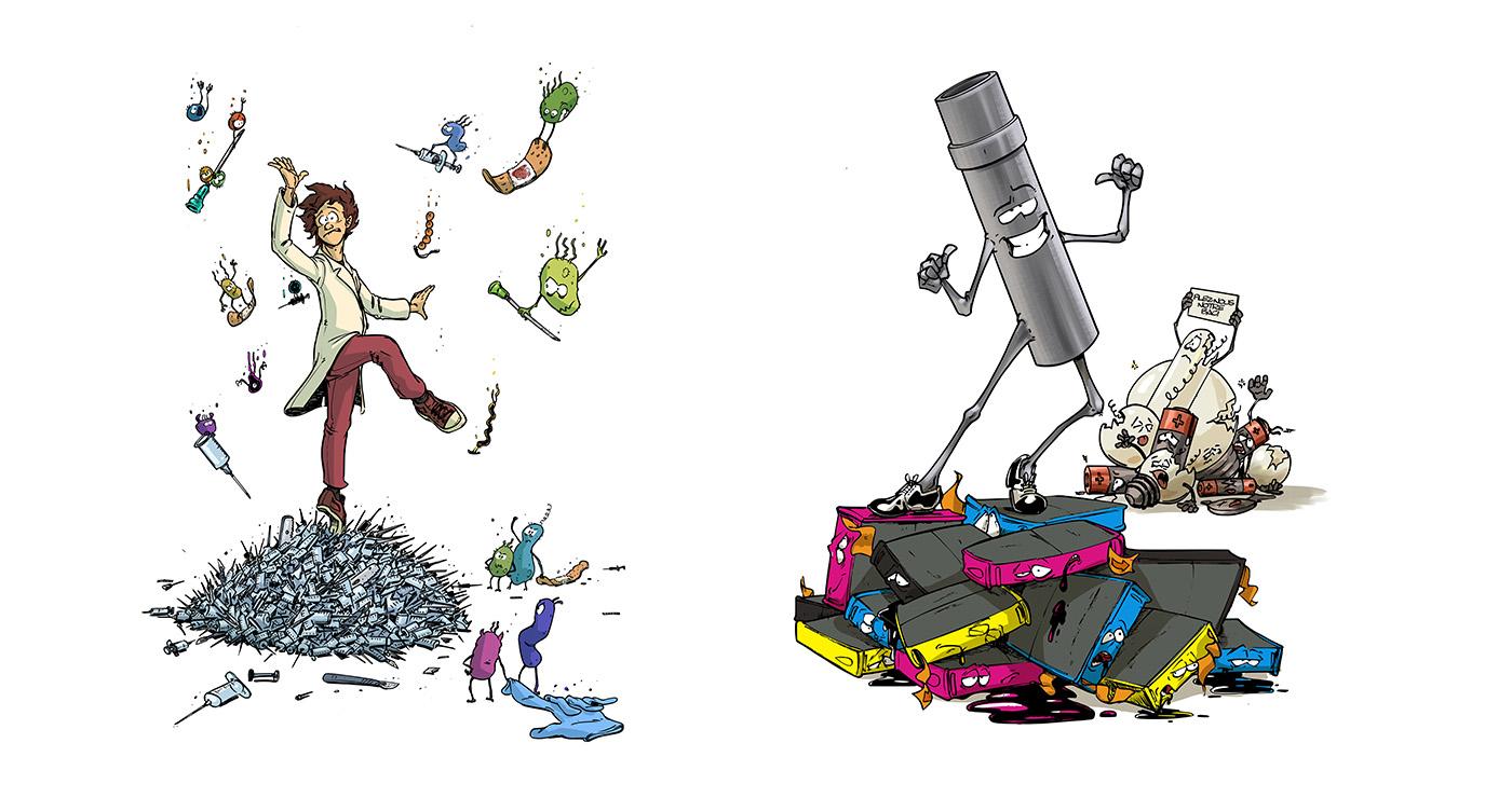 illustration guillaume mazurage recyclage 2 02
