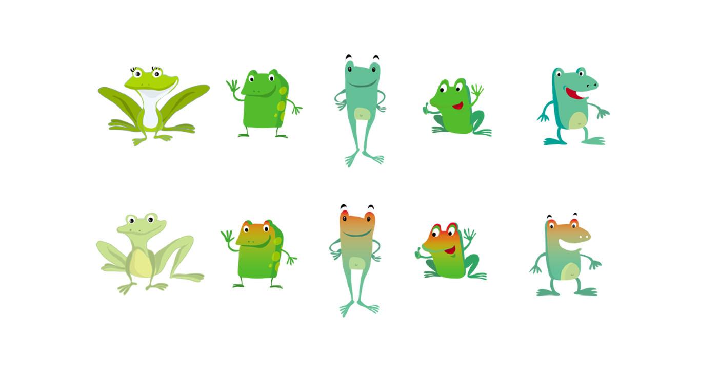 illustration-jorg-mailliet-grenouilles-mascottes