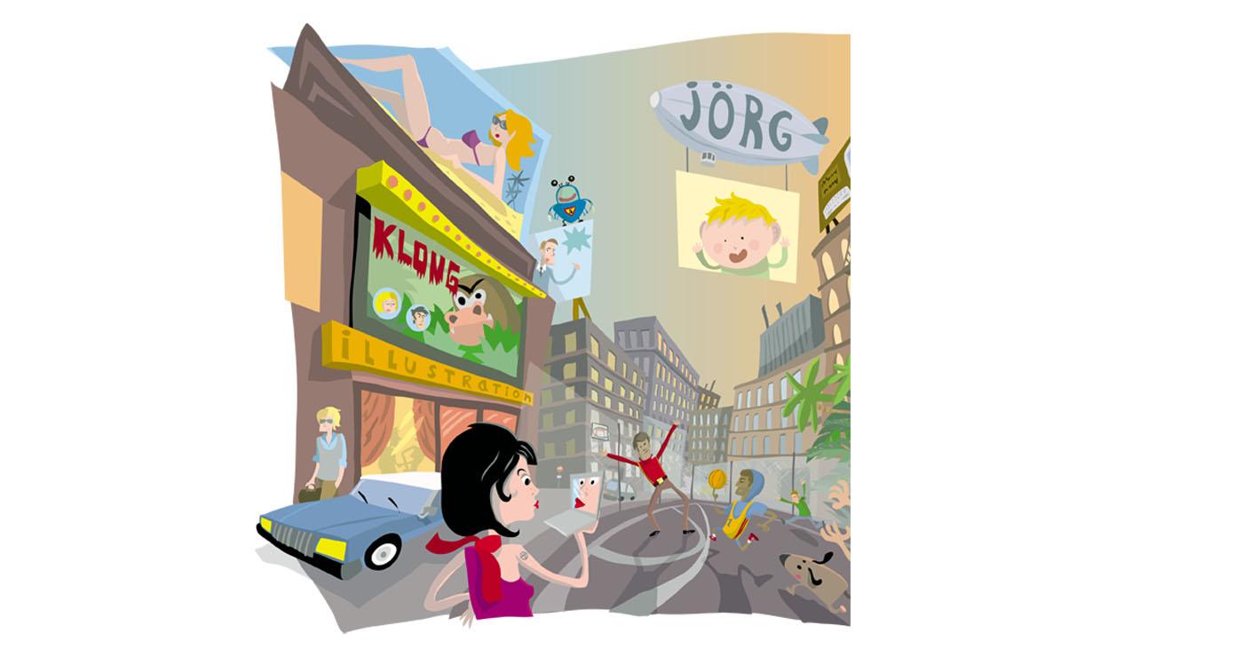 JORG - illustrations -