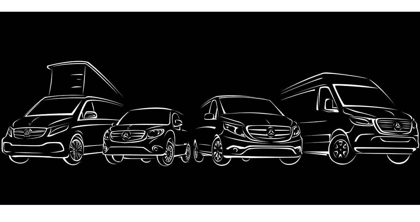 illustration manuel fontegne voiture mercedes