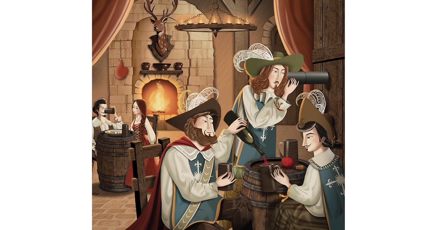 illustration-mlle-valentine-les trois mousquetaires-8