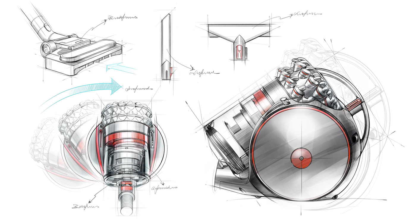 illustration richard ngo aspirateur dyson
