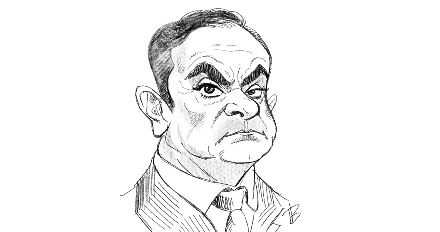 illustration thierry beaudenon caricature carlos 1 01