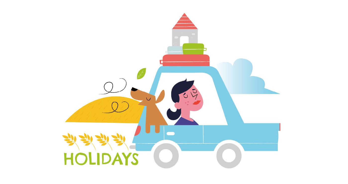 illustration thomas gaudinet holidays