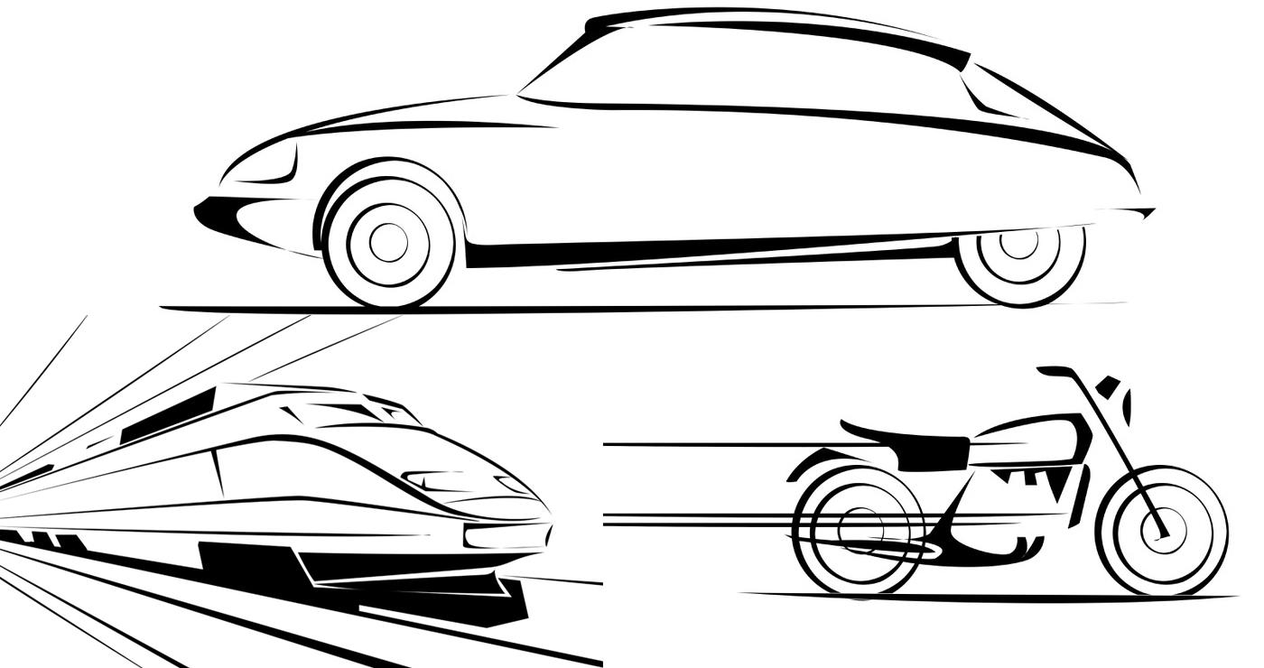 illustration vectorielle manuel fontegne transports