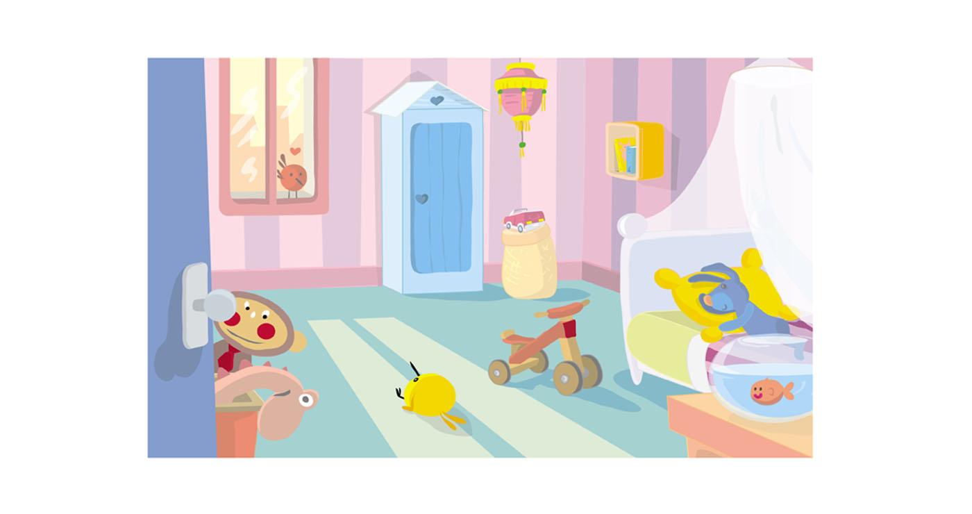 illustration vernius chambre