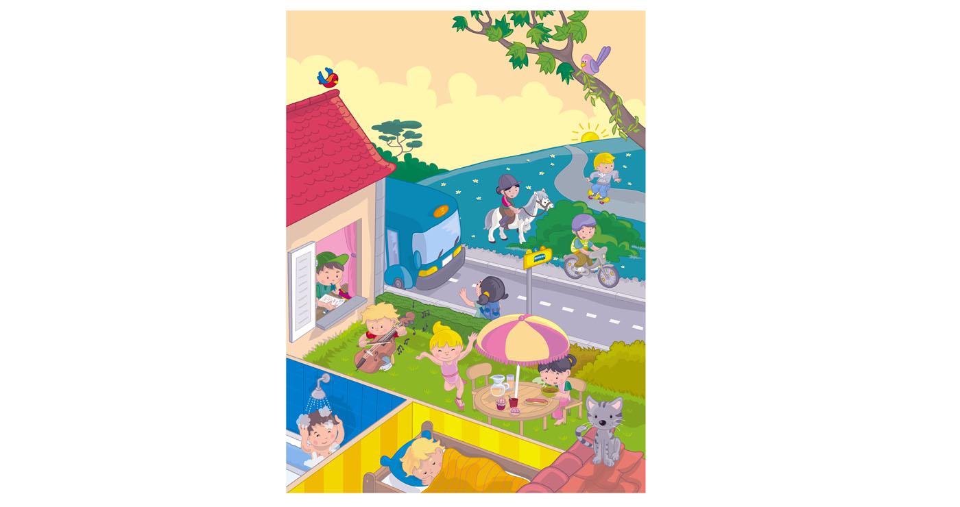 illustration vernius imagier journée