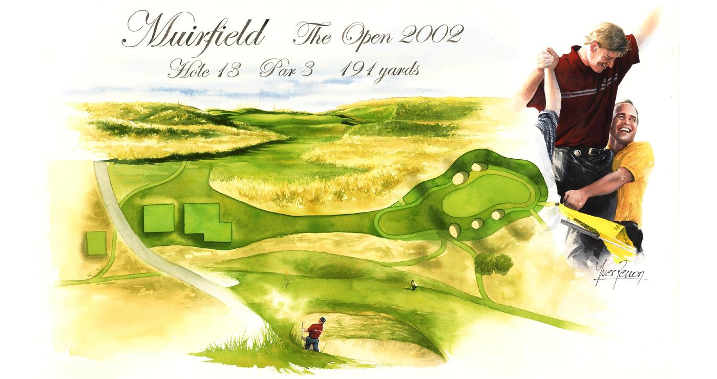 illustration-yves-perron-aquarelle-golf-muirfield