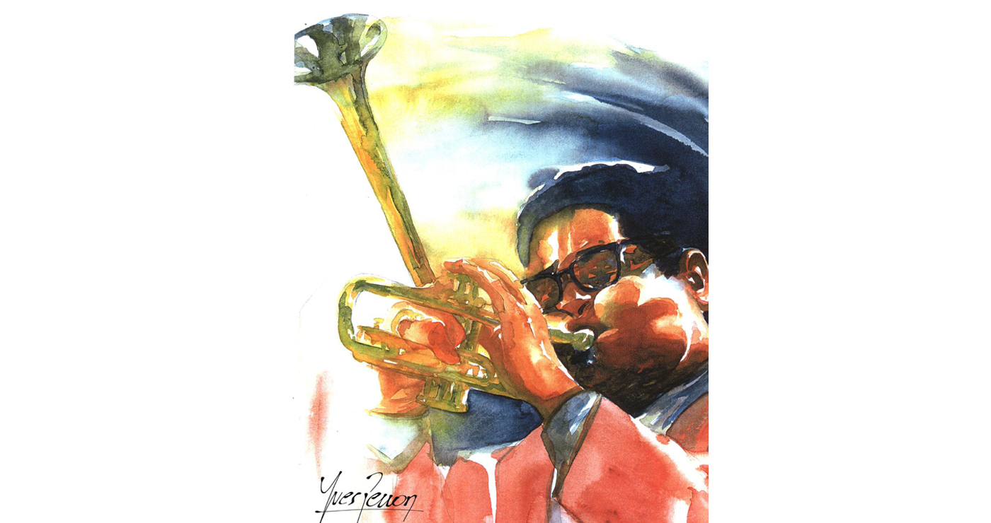 illustration-yves-perron-aquarelle-portrait-dizzy-gillespie