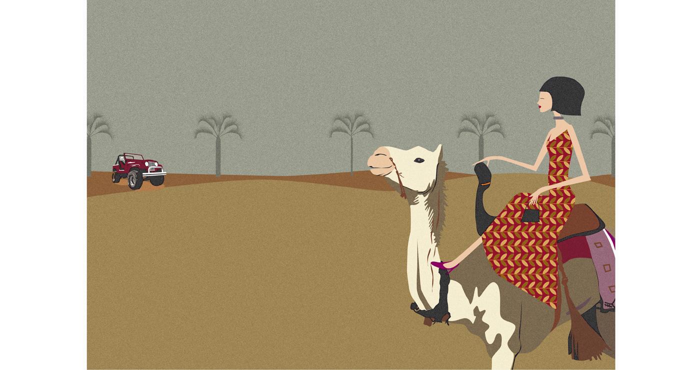 illustration zazaman personnages dromadaire 02