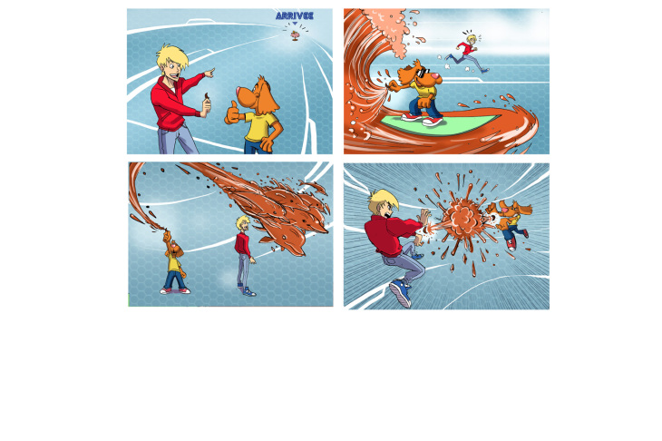 Alfonso RECIO - illustrations -  - Mangas