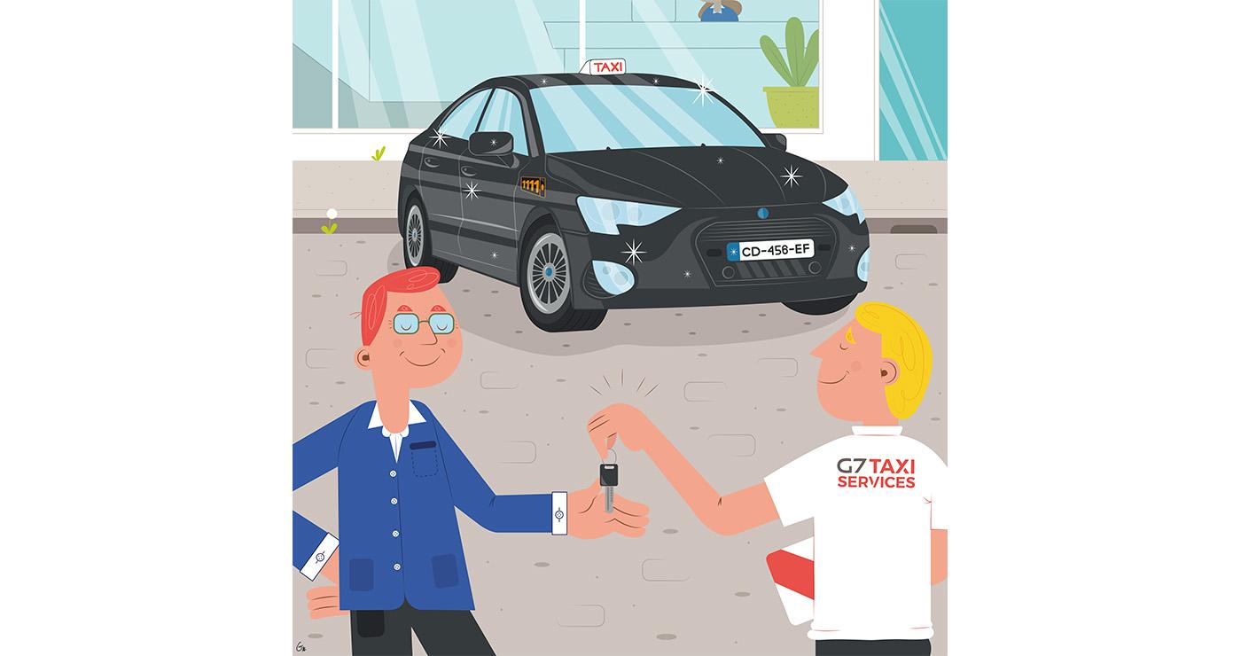 illustrations thomas gaudinet taxi 1