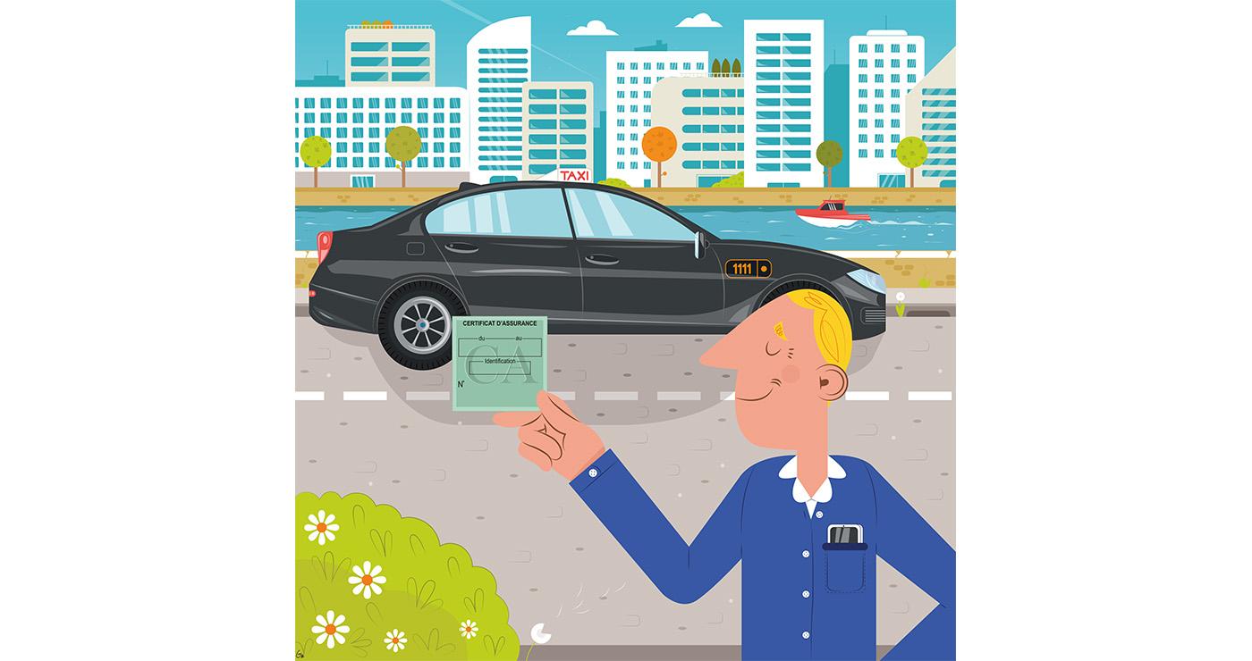 illustrations thomas gaudinet taxi 2