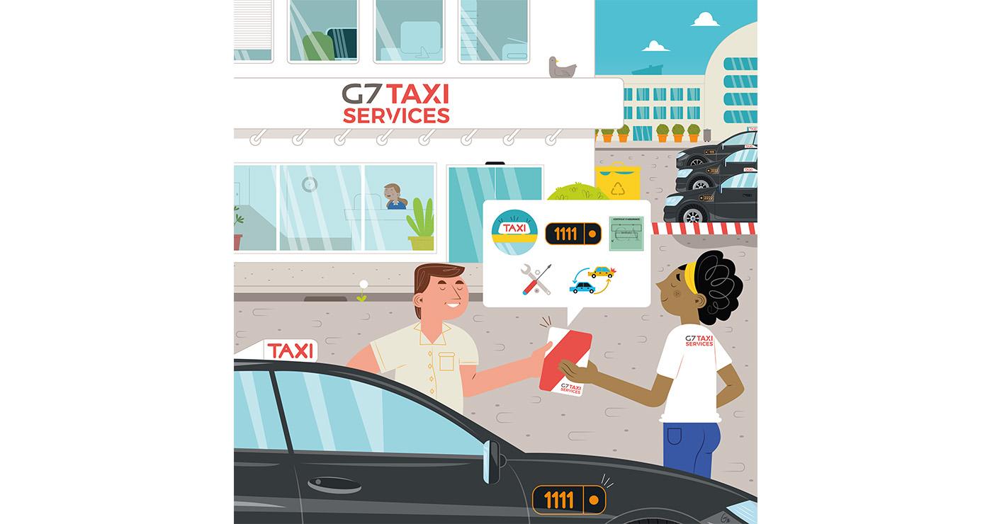 illustrations thomas gaudinet taxi 5
