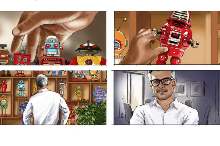 Marc INGRAND - roughs & story -  - Story Board