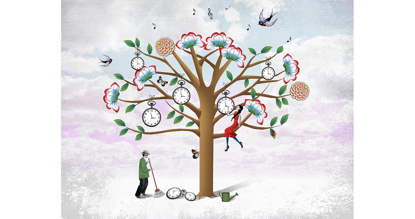mllevalentine-illustration-rough-story-board-animation-botanique-printemps-lun-et-lautre