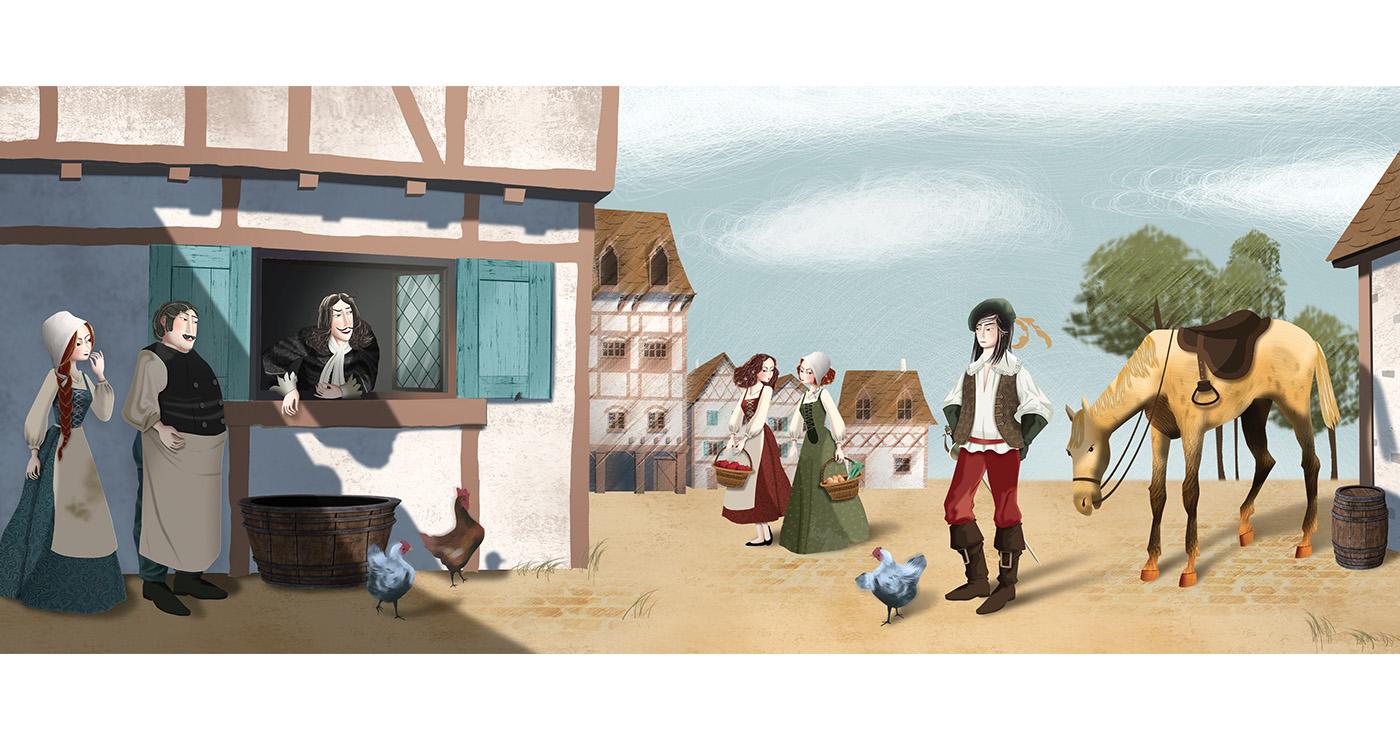 mllevalentine-illustration-rough-story-board-animation-editions-les-trois-mousquetaires-lun-et-lautre-1